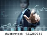 analyzing sales data | Shutterstock . vector #421280356