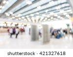 abstract blur airport passenger ... | Shutterstock . vector #421327618