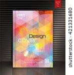 cover design. the modern...   Shutterstock .eps vector #421331680