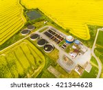 Aerial View Of Biogas Plant...