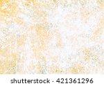 designed grunge paper texture... | Shutterstock . vector #421361296