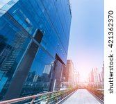 guangzhou developed commercial... | Shutterstock . vector #421362370