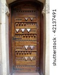 ornate old arabic architecture... | Shutterstock . vector #42137491