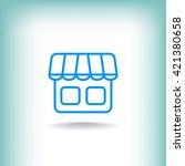 shop icon  shop icon eps10 ...