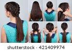 tutorial photo of easy... | Shutterstock . vector #421409974