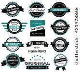 collection of best quality... | Shutterstock .eps vector #421428868