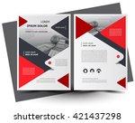 flyer brochure design  business ... | Shutterstock .eps vector #421437298
