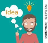 idea people | Shutterstock .eps vector #421441423