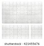 puzzle | Shutterstock . vector #421455676