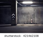 urban underground background.... | Shutterstock . vector #421462108