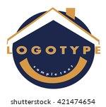 logotype   Shutterstock .eps vector #421474654