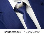 Detail View Of Business Blue...