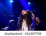 barcelona   may 26  ibeyi  soul ... | Shutterstock . vector #421507750