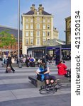 london  england  14 may 2016 ... | Shutterstock . vector #421520134