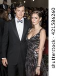 Small photo of New York City, USA - May 2, 2016: Benjamin Walker and Kaya Scodelario attend the Manus x Machina Fashion in an Age of Technology Costume Institute Gala at the Metropolitan Museum of Art