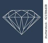 diamond logo vector | Shutterstock .eps vector #421586608