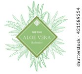 Aloe Vera Hand Drawn Set...