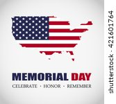 memorial day | Shutterstock .eps vector #421601764