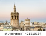 view of the saint mary's... | Shutterstock . vector #421610194