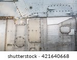 abstract metal background. old... | Shutterstock . vector #421640668