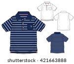 polo shirts. design template....