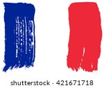 flag of france | Shutterstock .eps vector #421671718