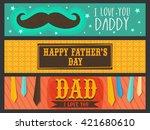 colorful website header or... | Shutterstock .eps vector #421680610