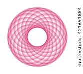abstract vector illustration.... | Shutterstock .eps vector #421691884