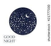 Moon And Stars. Sleep Dreams...