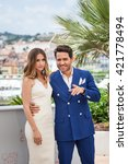 Small photo of Cannes, France - 16 MAY 2016 - Edgar Ramirez and Ana de Armas attend the 'Hands Of Stone' Photocall at the annual 69th Cannes Film Festival at Palais des Festivals