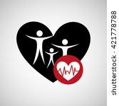medical healthcare design  | Shutterstock .eps vector #421778788