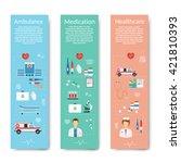 medicine concept vector...   Shutterstock .eps vector #421810393