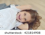 girl portrait | Shutterstock . vector #421814908