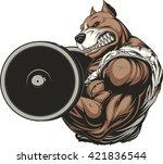 vector illustration of a... | Shutterstock .eps vector #421836544