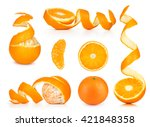Collection Of Orange  Slice An...
