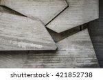abstract dark concrete interior ... | Shutterstock . vector #421852738