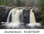 Little Manitou Falls at Pattison State Park in Wisconsin