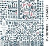 mega set of design resources   Shutterstock .eps vector #421932889