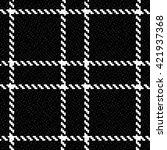 vector seamless tartan plaid... | Shutterstock .eps vector #421937368