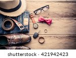 clothing and accessories for... | Shutterstock . vector #421942423