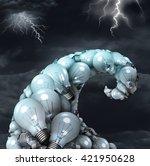 Creative Storm Concept As A...