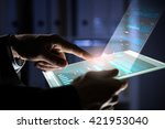 using innovative technologies | Shutterstock . vector #421953040