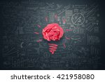 great creative idea | Shutterstock . vector #421958080
