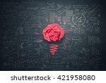 great creative idea | Shutterstock . vector #421958080