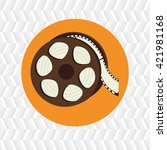 cinema icon design  | Shutterstock .eps vector #421981168