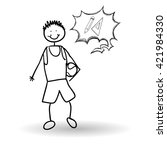 sketch icon. creative concept.     Shutterstock .eps vector #421984330
