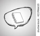 sketch icon. creative concept.   | Shutterstock .eps vector #421986610