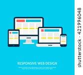 responsive web design gadgets...
