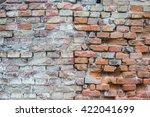 old brick wall | Shutterstock . vector #422041699