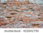 old brick wall | Shutterstock . vector #422041750